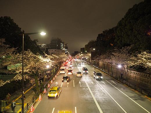 九段坂の夜桜と千鳥ヶ淵3