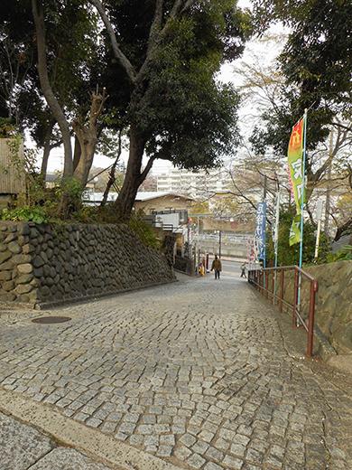 多摩川浅間神社の男坂?7