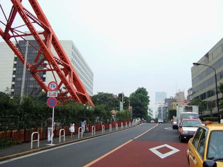 東京タワーの坂02