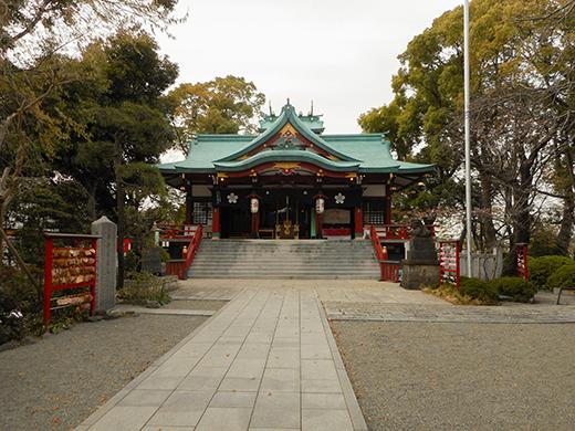 多摩川浅間神社の女坂かも?2