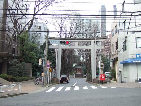 とある街の風景(八幡坂)2