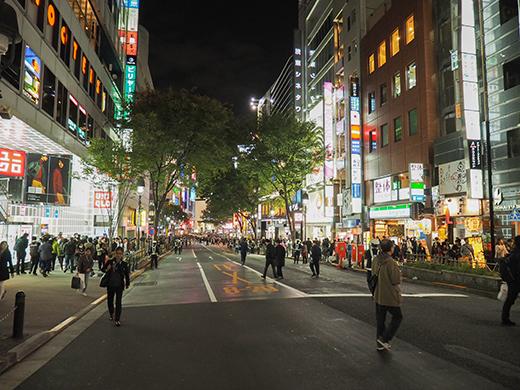ハロウィンの日に渋谷で坂道散歩2