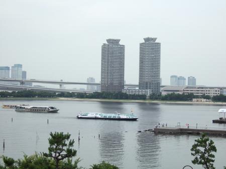 東京の海辺にて1