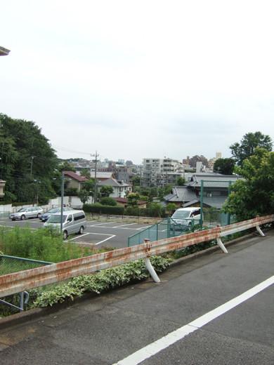 大田区立郷土博物館の北側にある眺望坂2