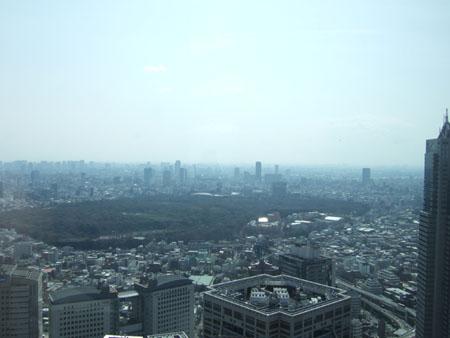 新宿の南側の眺め1
