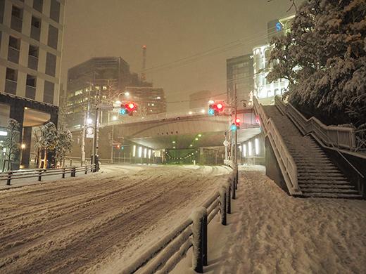 大雪の日の乃木坂1