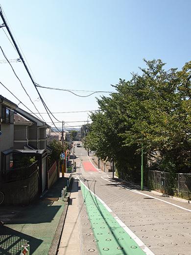 岡本三丁目の坂 [東京富士見坂](NO.257)5