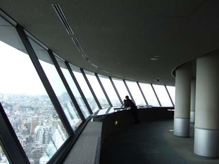 文京シビックセンターの展望台2