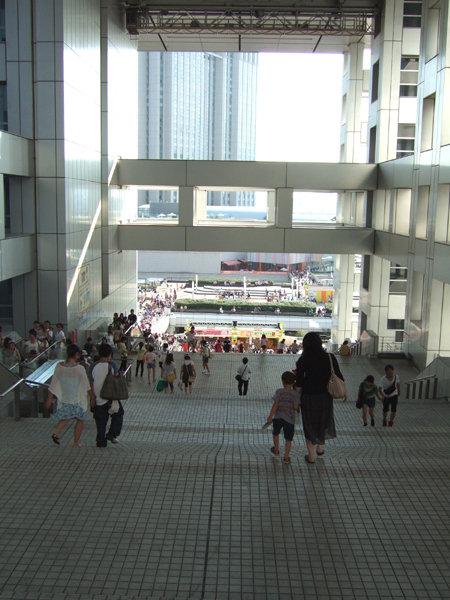フジテレビの大階段2
