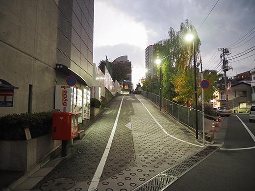 ログロード代官山横の坂道3