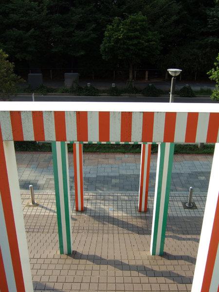 お台場海浜公園そばの謎の階段1