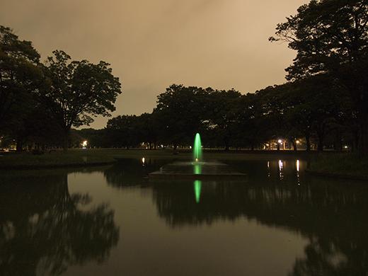 代々木公園夜景定期観測2