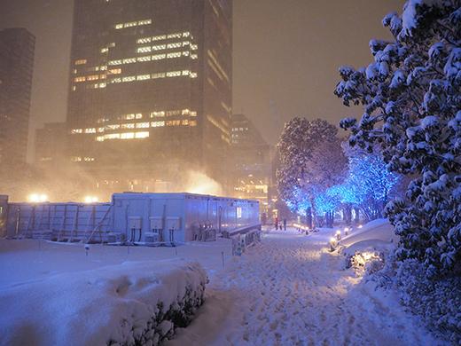 大雪の日の乃木坂4