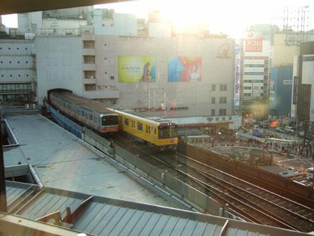 渋谷ヒカリエと宮益坂2