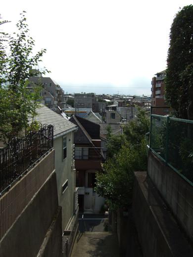 大田区山王3丁目の眺望階段3