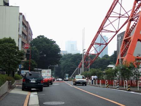 東京タワーの坂01