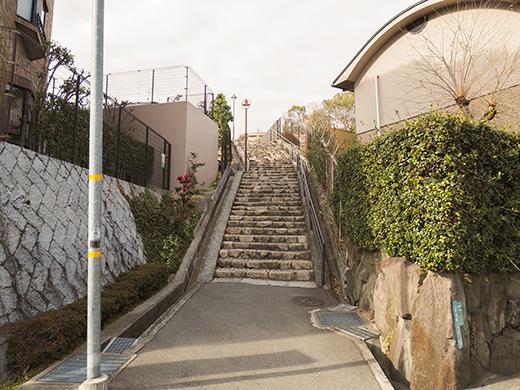上甲東園石畳階段(NO.305) 1