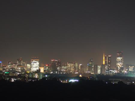 新宿だけど渋谷区からの夜景2