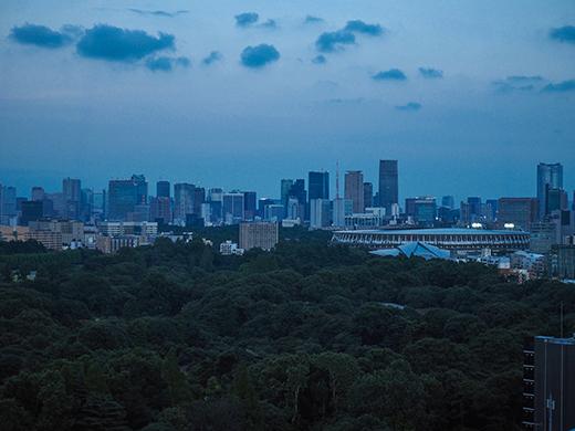 コロナ下の新宿空景2