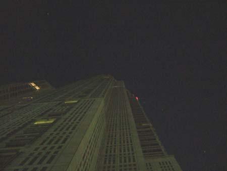 夜の都庁2