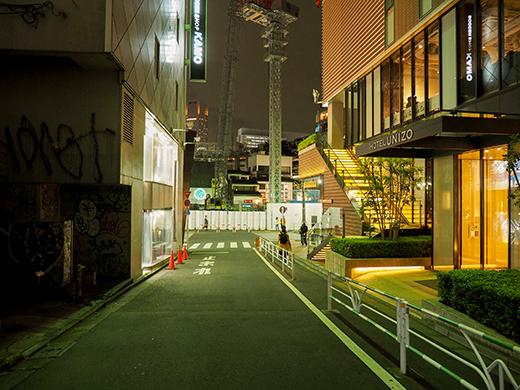 渋谷パルコから渋谷区役所へと上る坂道1