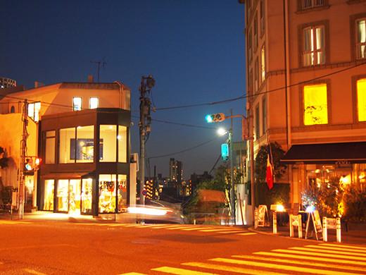 上村坂の坂上からの夜景2