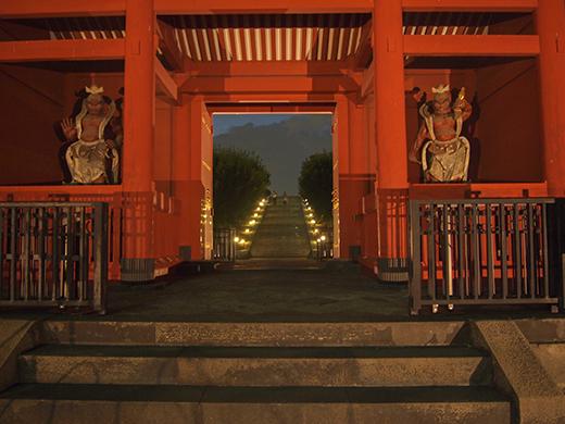 芝公園の階段の夜をぶらり3