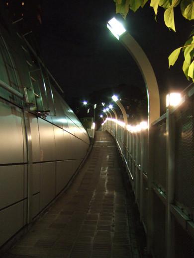 乃木坂トンネルの傾斜歩道2