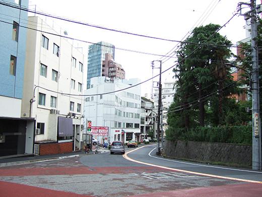 国立新美術館前の坂道3