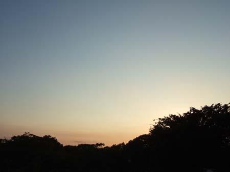 渋谷の夕焼け02