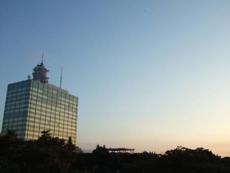 渋谷の夕焼け01