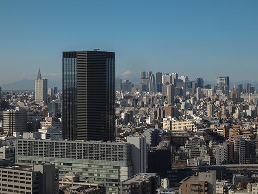 文京シビックセンターから富士見1