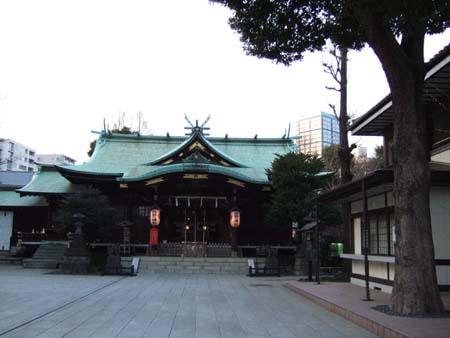 新宿中央公園のお寺1