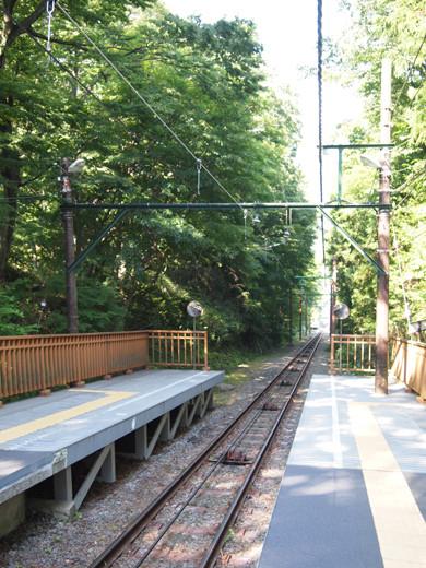 上強羅駅への坂道7
