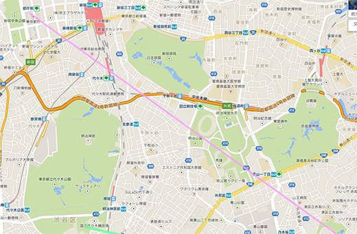 ひさしぶりの新宿都庁からの東京タワー2