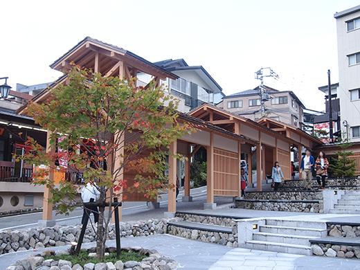 草津温泉湯畑の高低差めぐり5