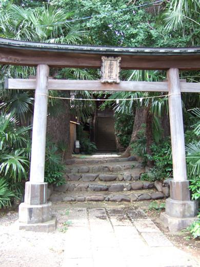 馬込城と湯殿神社の階段5