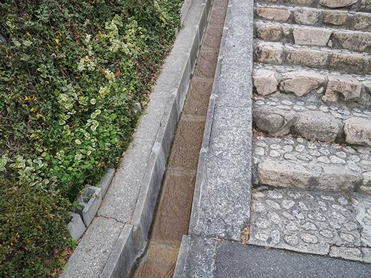 上甲東園石畳階段(NO.305)3