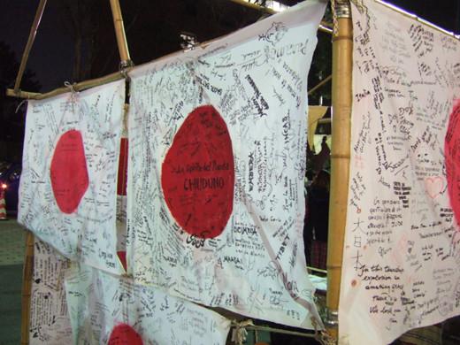 東京タワーの光のメッセージ3