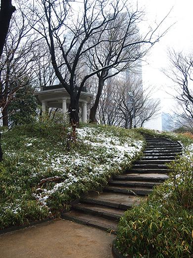 雪の日の富士見台3