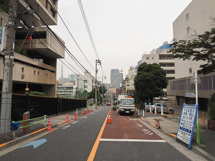 田町駅すくにある「潮見坂」と「聖坂」4
