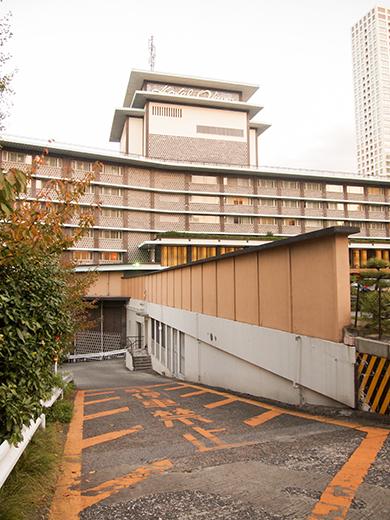 ホテルオークラ東京の坂道を歩いてみる15