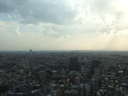 世田谷三茶から富士山を探してみる1