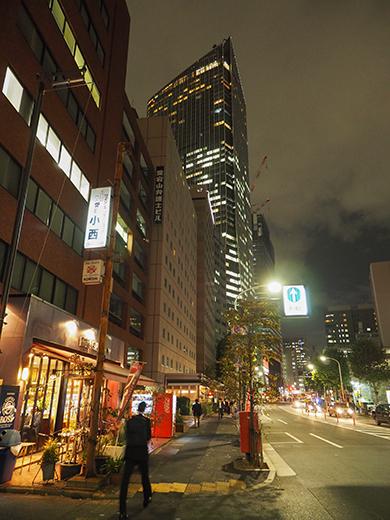 愛宕神社の男坂を夜にぶらりと2
