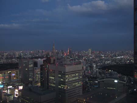 都庁からの夜景2