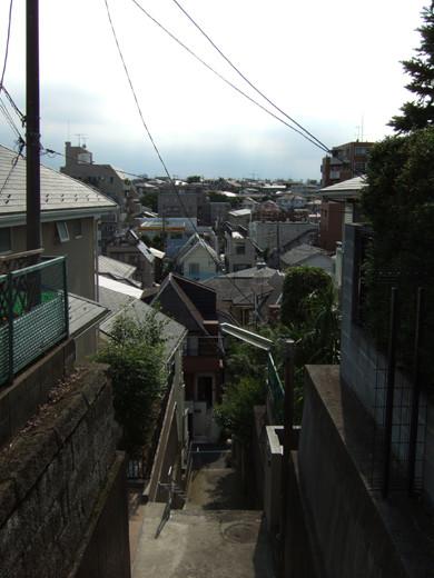 大田区山王3丁目の眺望階段5