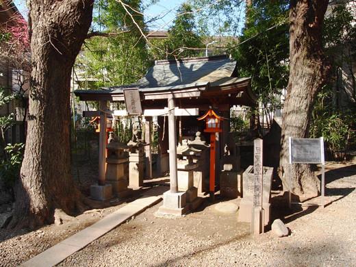 上目黒氷川神社の階段6