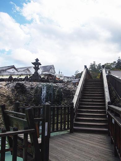 草津温泉湯畑の高低差めぐり4