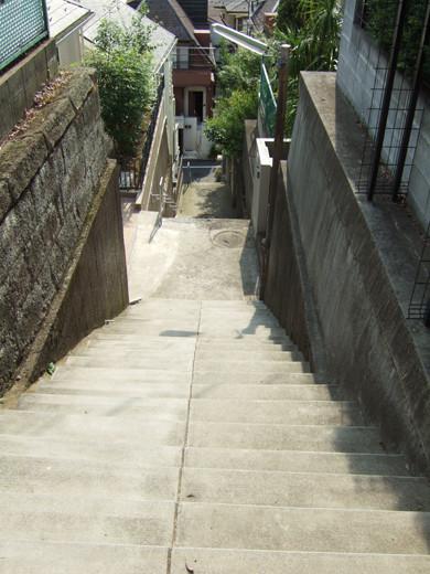 大田区山王3丁目の眺望階段4