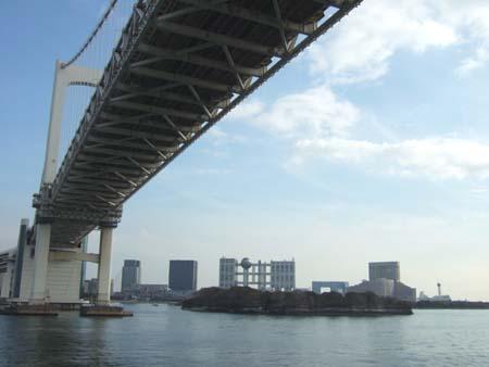 海からのレインボーブリッジ1